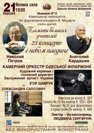 Абонемент №12  «Композитор тисячоліття»
