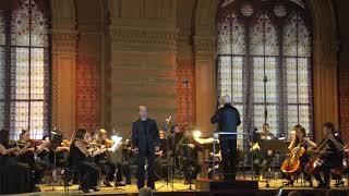 Міхаіл Ксіда (кларнет) з камерним оркестром. 12.08.21