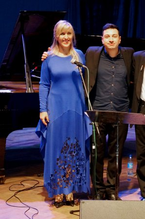 Завершилась серия концертов Михаила Ксиды и  Виолы Демидовой