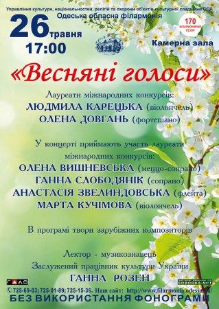 Весняні голоси